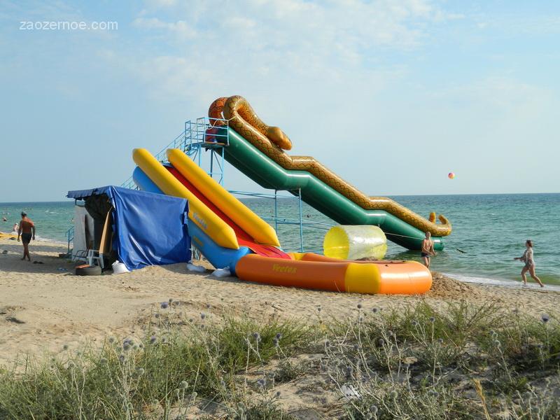 Дикий пляж. Крым. Евпатория. Заозёрное