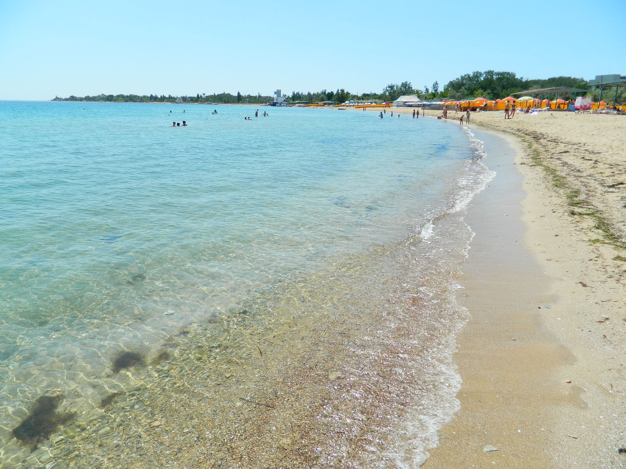 Крым песчаные пляжи где фото